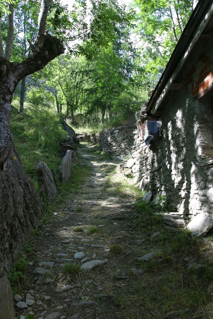 sentiero partenza Ussolo